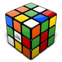 Cube, Mixed, Rubik's Icon