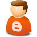 Blogger, Icontexto, User, Web Icon
