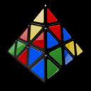Meffert's, Mixed, Pyraminx Icon