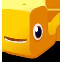 Orange, Whale Icon