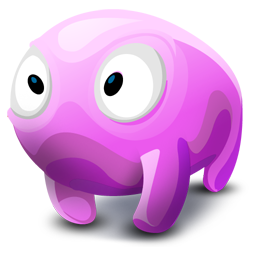 Creature, Pink Icon