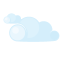 Day, Lightcloud Icon