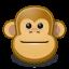 Face, Gnome, Monkey Icon