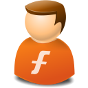Furl, Icontexto, User, Web Icon