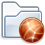 Folder, Ftp Icon