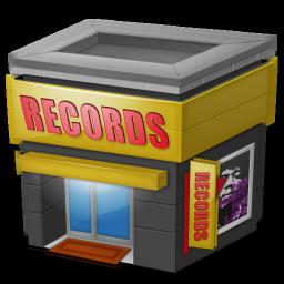 Records, Shop Icon