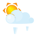 Grain, Lightcloud, Sun Icon