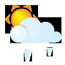 Grain, Lightcloud, Sun Icon