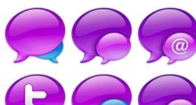 Tweetie Balloons Icons