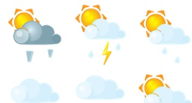 Weer Weather Icons