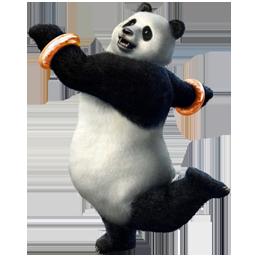 Big, Panda Icon