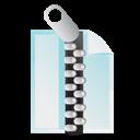 Document, Zip Icon