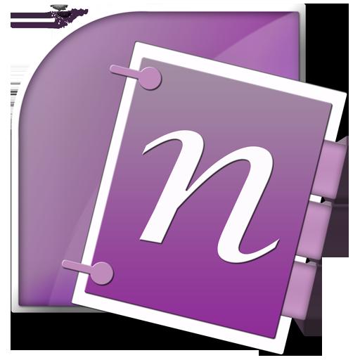 Microsoft, Office, Onenote Icon
