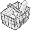 Basket, Full Icon