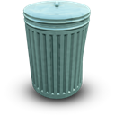 Bin, Closed Icon