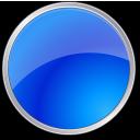 Blue, Circle Icon