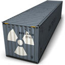 Container, Danger Icon