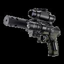 Bb, Gun, p Icon
