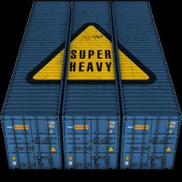 Containers, Heavy, Super Icon