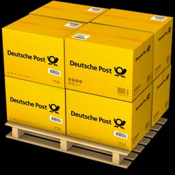 Boxes, Deutsche, Post Icon