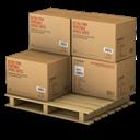 Boxes, Palet Icon