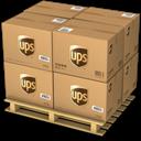 Boxes, Ups Icon
