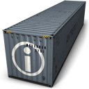 Container, Info Icon