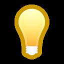 Bulb, Light, On Icon