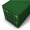 Container, Green Icon
