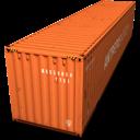 Container, Orange Icon