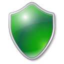 Green, Shield Icon