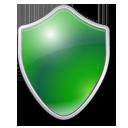 Green, Shield Icon