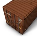 Brown, Container Icon
