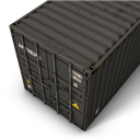 Container, Gray Icon
