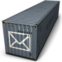 Container, Mail Icon