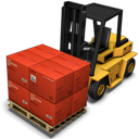 Cargo, Forklift Icon