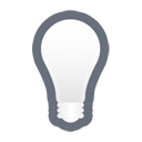 Bulb, Light, Off Icon