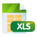 Document, Xls Icon