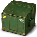 Container, Trash Icon