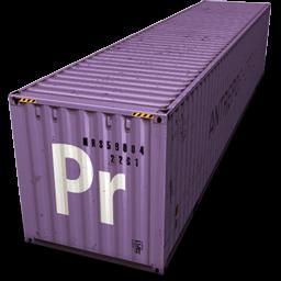 Container, Premiere Icon