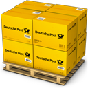 Boxes, Deutsche, Post Icon