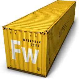 Container, Fireworks Icon