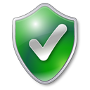 Checked, Green, Shield Icon