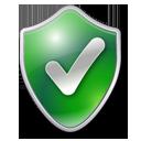 Checked, Green, Shield Icon