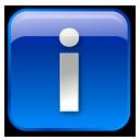 Blue, Box, Info Icon