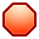 Alt, Stop Icon