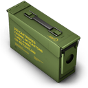 Ammo, Box, Green Icon