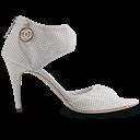 Shanel, Shoe, White Icon