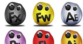 Adobe Egg Icons