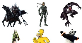 Characters Icons